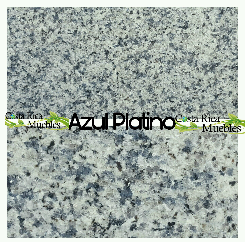 Tonos granito natural granito azul platino for Granito azul platino