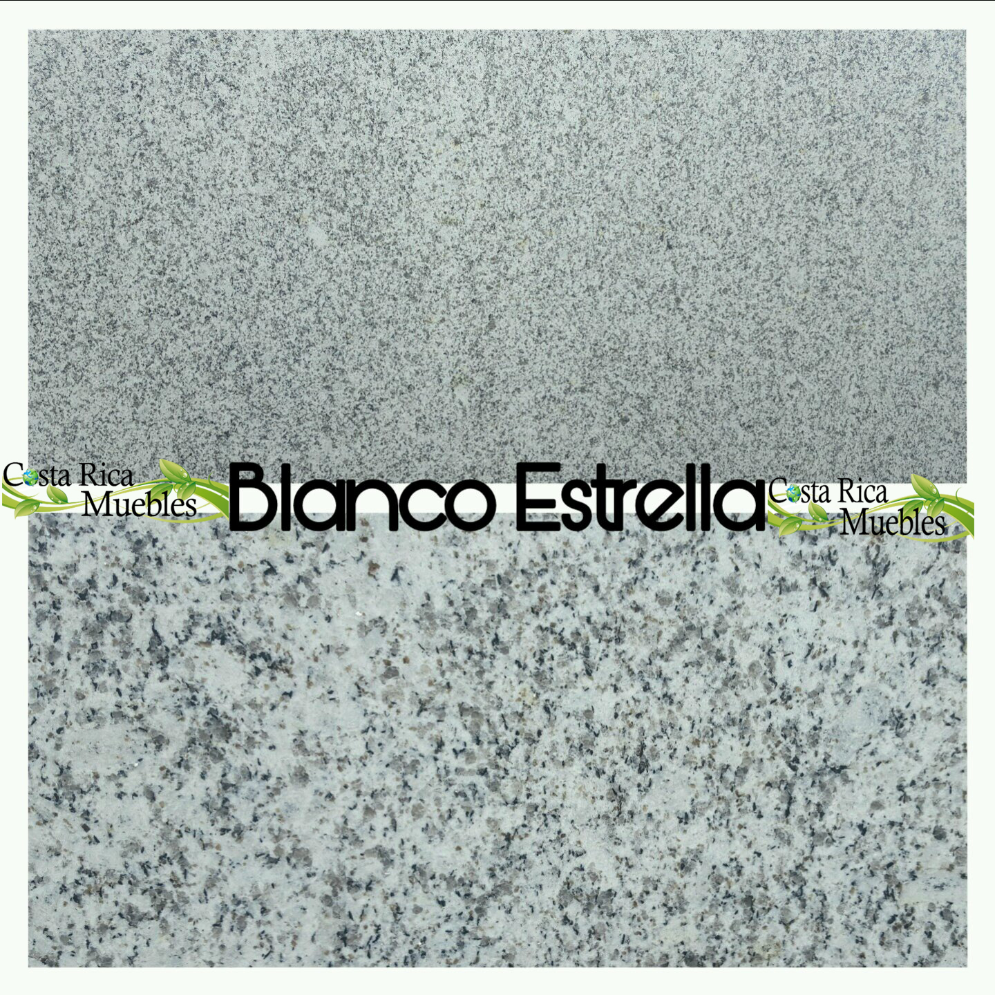 Tonos granito natural granito blanco estrella for Granito natural blanco