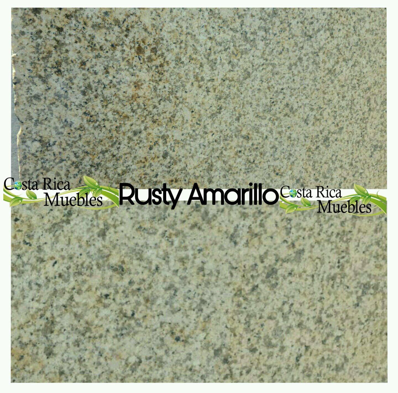 Tonos granito natural granito rusty amarillo for Precio metro lineal granito nacional